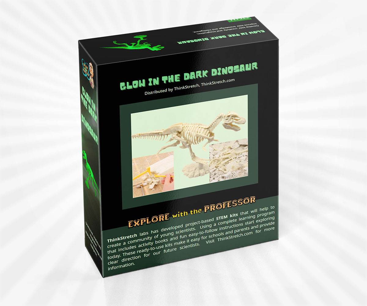 Glow in the Dark Dino Dig